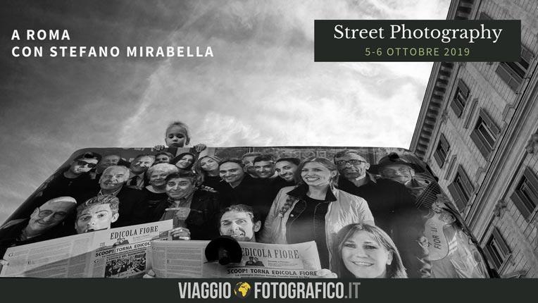 Workshop di Street Photography con  Stefano Mirabella