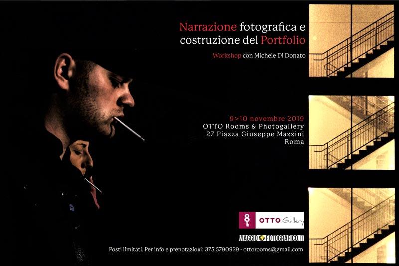 NARRAZIONE FOTOGRAFICA e COSTRUZIONE del PORTFOLIO con Michele Di Donato