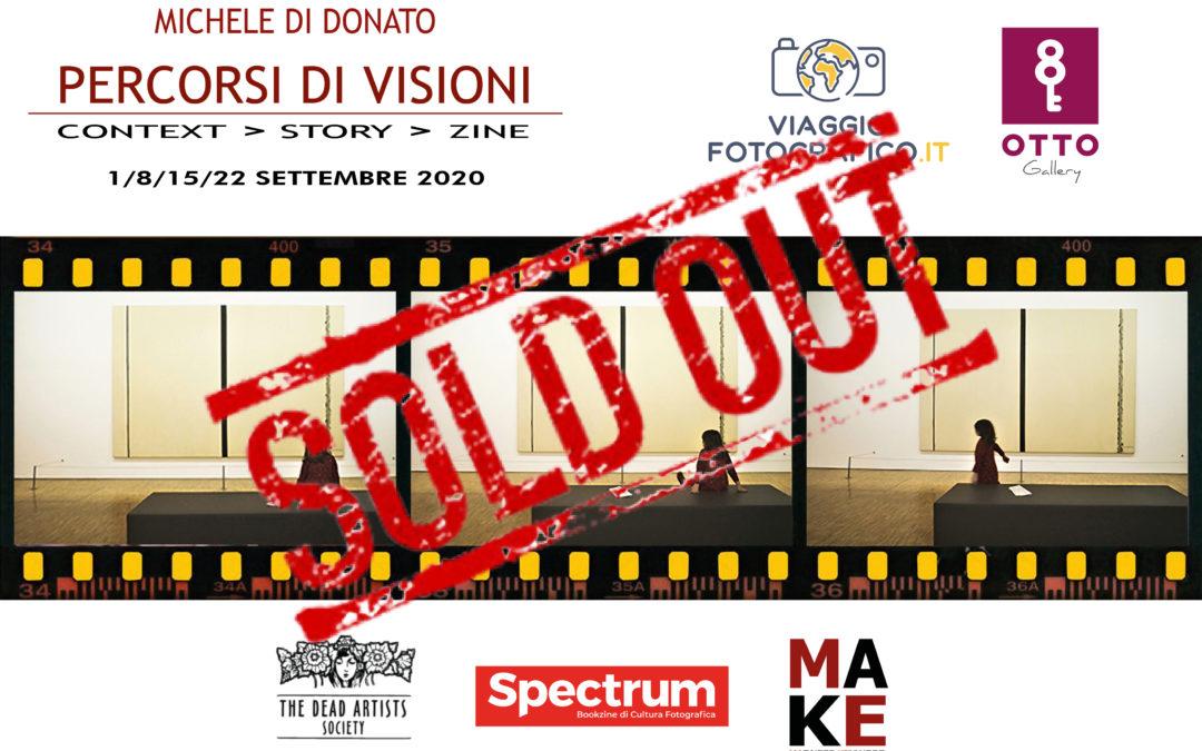 PERCORSI DI VISIONI, un workshop con Michele di Donato